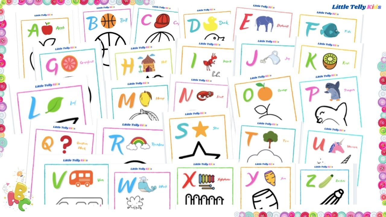 Draw A to Z Pictures